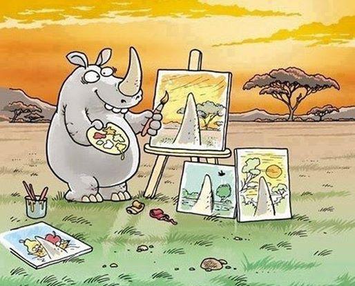 Es gibt so viele Arten die Welt zu sehen....